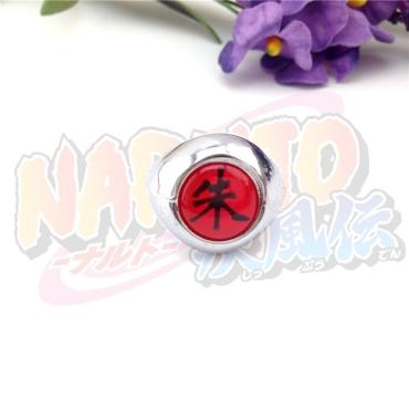""""""" Naruto Shippuden """" Akatsuki Cosplay Ring"""