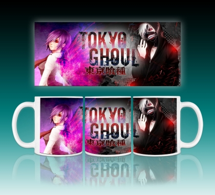 """ Tokyo Ghoul "" Аниме Чаша"