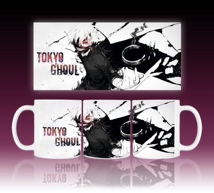 """ Tokyo Ghoul "" Чаша - Kaneki"