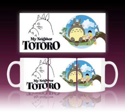 """ My Neighbour Totoro "" Аниме Чаша"