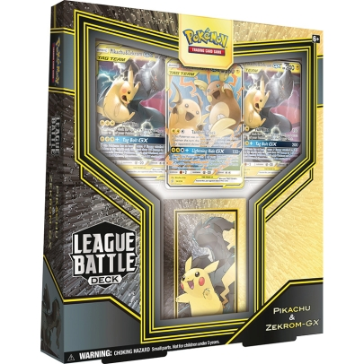 Pokemon TCG League Battle Deck - Pikachu & Zekrom GX