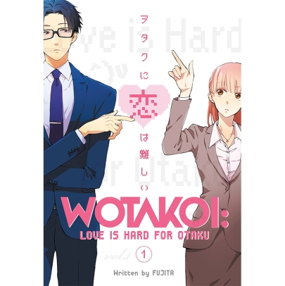 Манга: Wotakoi Love is Hard for Otaku 1