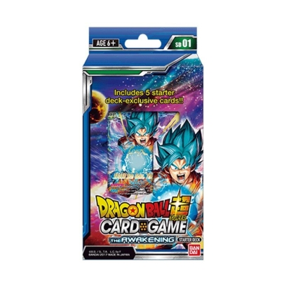 DRAGON BALL SUPER CARD GAME Стартово Тесте 01 ~ The Awakening
