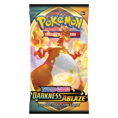 Pokemon TCG Sword & Shield - Darkness Ablaze Бустер