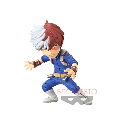 My Hero Academia The Movie Heroes: Rising WCF ChiBi Figure - Shoto Todoroki
