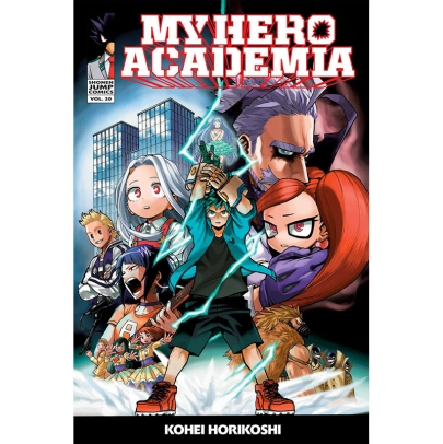 Манга: My Hero Academia Vol. 20