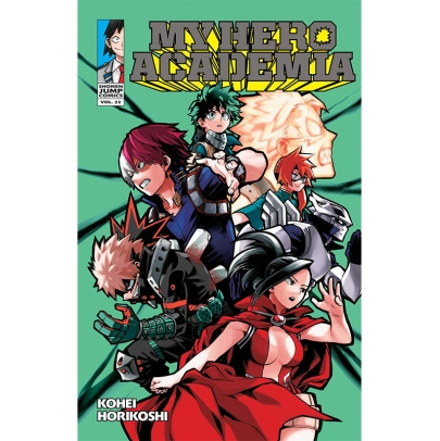Манга: My Hero Academia Vol. 22