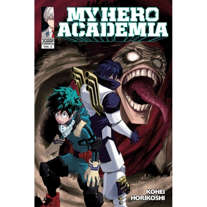 Манга: My Hero Academia Vol. 6