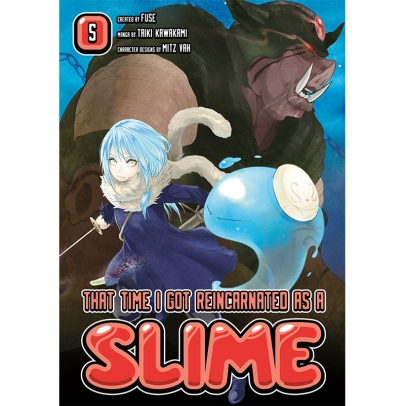 Манга: That Time I Got Reincarnated as a Slime 5