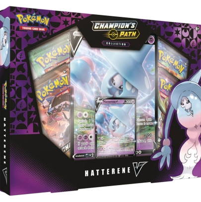 Pokémon TCG Sword & Shield 3.5 Champion's Path Collection - Hatterene V