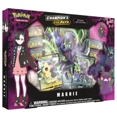 Pokémon TCG Sword & Shield 3.5 Champion's Path Premium Collection - Marnie