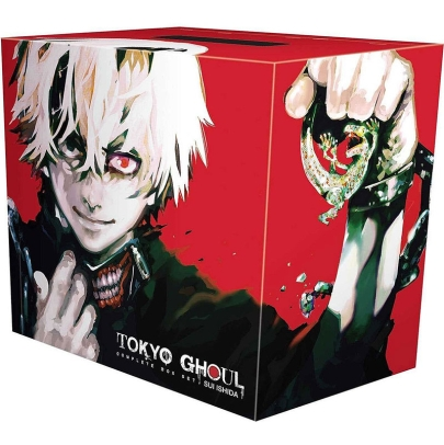 Манга: Tokyo Ghoul Complete Box vols. 1-14
