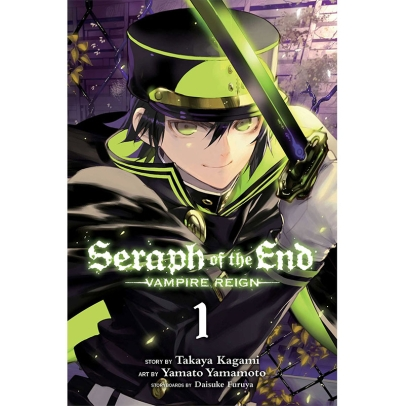 Manga: Seraph of the End Vampire Reign Vol. 1