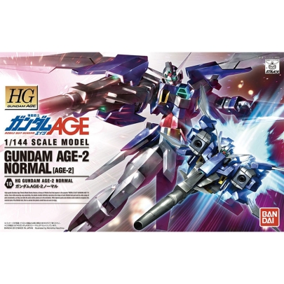 (HG) Gundam Model Kit - Gundam Age-2 Normal 1/144
