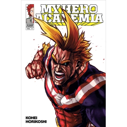 Манга: My Hero Academia Vol. 11