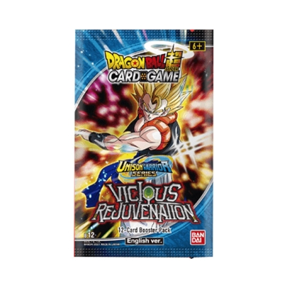 DRAGON BALL SUPER CARD GAME Unison Warrior Series VICIOUS REJUVENATION - Бустер