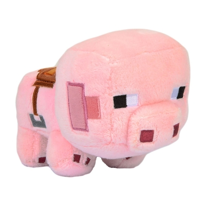 Minecraft: Плюшена Играчка -  Happy Explorer Saddle Pig