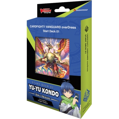 Cardfight!! Vanguard overDress - Yu-yu Kondo - Holy Dragon  - Стартово Тесте