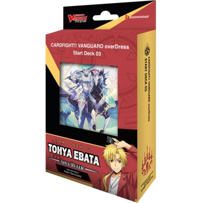 Cardfight!! Vanguard overDress - Tohya Ebata - Apex Ruler - Стартово Тесте