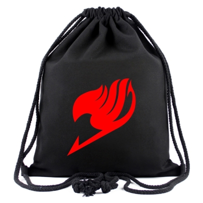 """ Fairy Tail ""  Canvas Bag - Backpack"