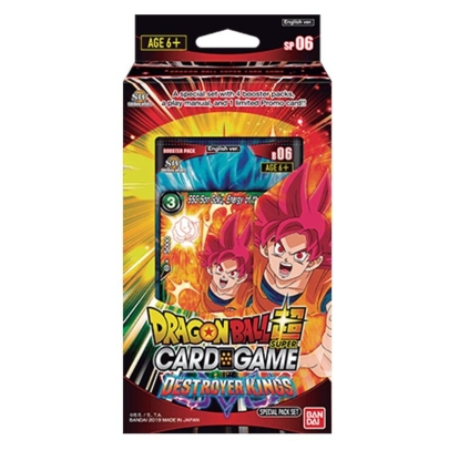 """ Dragon Ball Super Card Game "" Destroyer Kings Special Set"