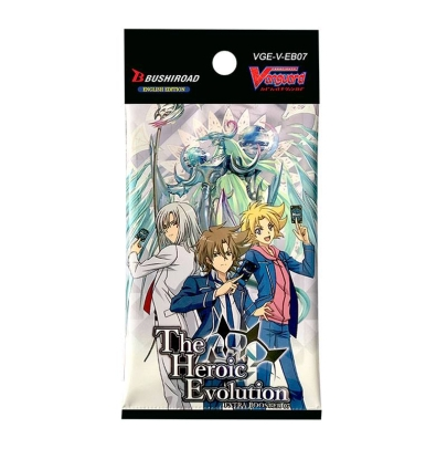 """ Cardfight!!! Vanguard "" V Extra Booster 07: The Heroic Evolution"