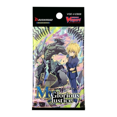 """ Cardfight!!! Vanguard "" V бустер Set 08: My Glorious Justice"