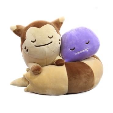 Pokemon: Plush Toy - Furret & Ditto