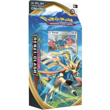 Pokemon TCG Sword and Shield 02: Rebel Clash Themed Deck- Zacian