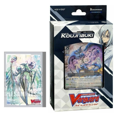 HOBBY COMBO: Cardfight!! Vanguard Тесте за игра Link Joker + Протектори за карти 70 броя - Kouji Ibuki