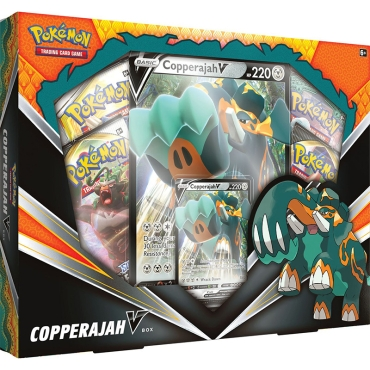 Pokemon TCG V Box - Copperajah