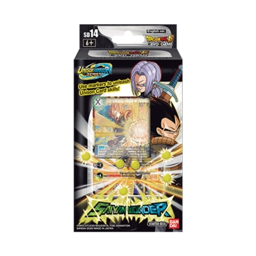 DRAGON BALL SUPER CARD GAME Стартово Тесте 14 -Saiyan Wonder- [DBS-SD14]