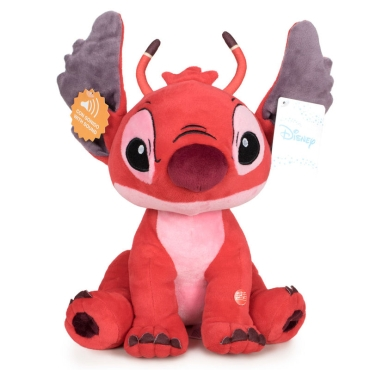 Disney Stitch Leroy soft plush toy with sound 30cm