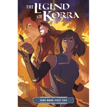 Комикс: The Legend of Korra Turf Wars Part 2