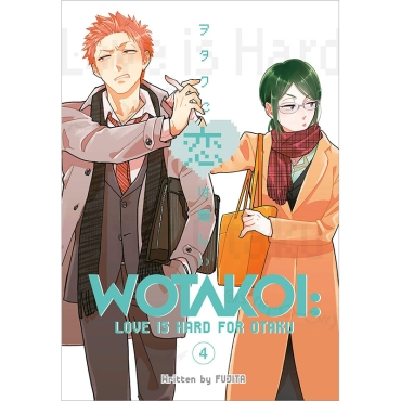Манга: Wotakoi Love is Hard for Otaku 4