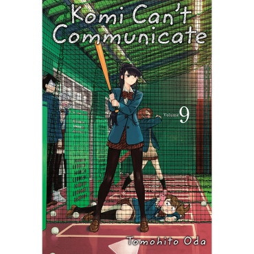 Манга: Komi Can't Communicate, Vol. 9