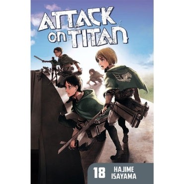 Манга: Attack On Titan vol. 18