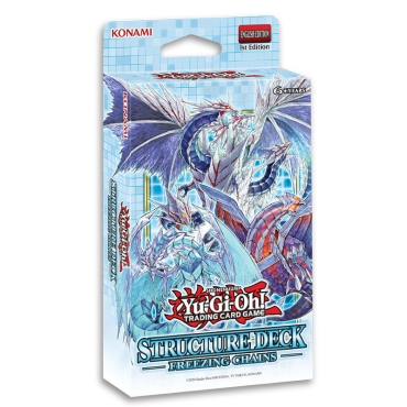 Yu-Gi-Oh! TCG Freezing Chains Structure Deck - Тесте