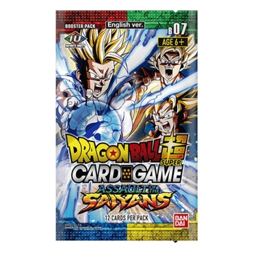 Dragon Ball Super Card Game: Бустер - Assault of the Saiyans