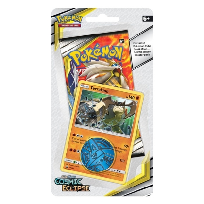 Pokemon TCG Sun and Moon 12: Cosmic Eclipse - Checklane Blister Display