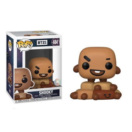 Funko POP! BT21 - Shooky Vinyl Figure 10cm