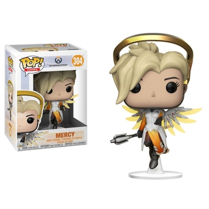 Funko POP! Overwatch S3 - Mercy Vinyl Figure 10cm