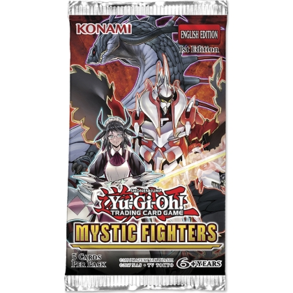 """ Yu-Gi-Oh! TCG "" Mystic Fighters Booster"