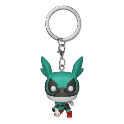 My Hero Academia: Funko POP Ключодържател - Deku с каска