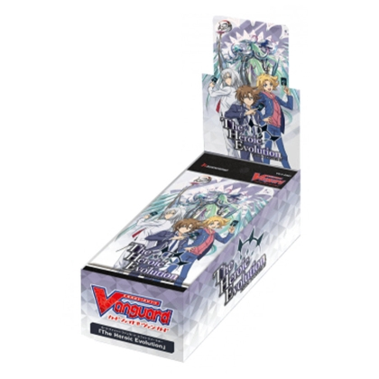 """ Cardfight!!! Vanguard "" V 07: The Heroic Evolution - Booster Box - 12 Packs"