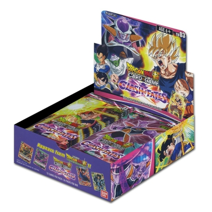""" Dragon Ball Super Card Game "" Booster Box - Clash of Fates - 24 boosters"