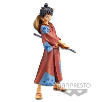 One Piece Stampede DXF Grandline Men PVC Statue Monkey D. Luffy 16 cm