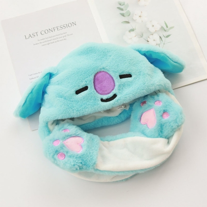 BT21: Tik Tok Plush Hat - Koya