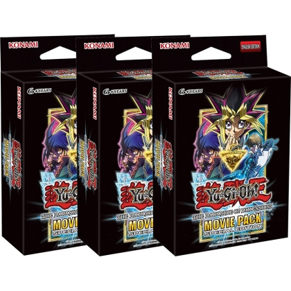 "HOBBY COMBO: 3 X "" Yu-Gi-Oh "" TCG Movie Pack - Dark Side of Dimensions - SECRET EDITION (3 Пакета)"