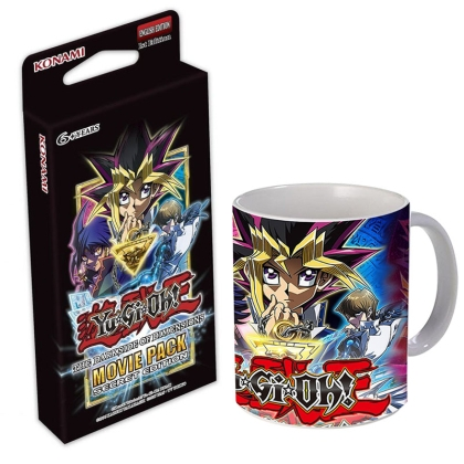 "HOBBY COMBO: "" Yu-Gi-Oh "" TCG Movie Pack + Movie Чаша"